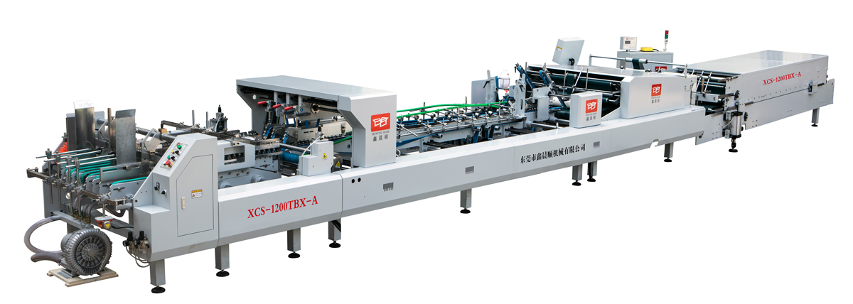 High speed Automatic Folder Gluer for Express Carton